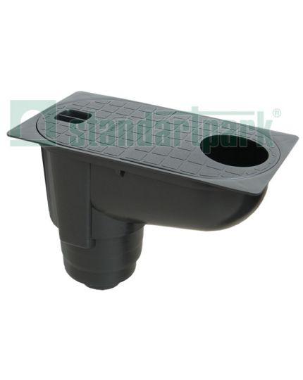 Camin PolyMax Basic PP Dn100 300x163x208 A15 vertical