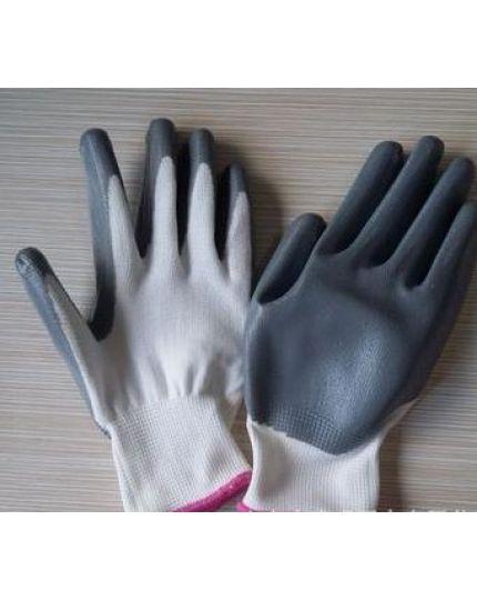 Manusi latex 13G albe nitril size 11