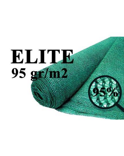 Plasa pentru umbrire verde Elite